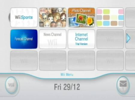 Wii Menu Version 3.3 Now Available for Download
