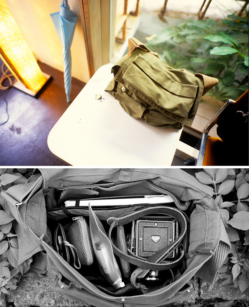 my new camera bag from Muji