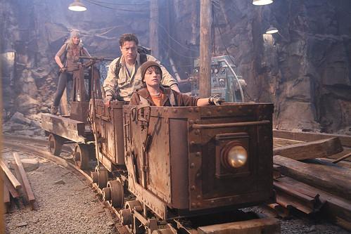 vagón minas Viaje al centro de la Tierra