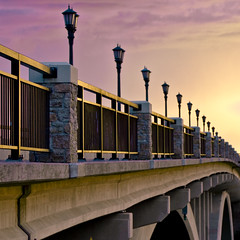 Lake Street Bridge Sunset (Tony Webster) Tags: road street bridge light sunset sky minnesota stone mississippi stpaul minneapolis marshall mississippiriver twincities saintpaul lakestreet hennepin ramsey marshallavenue eastlakestreet hntb marshallavenuebridge 20080621mpls cgg1508 crv1523