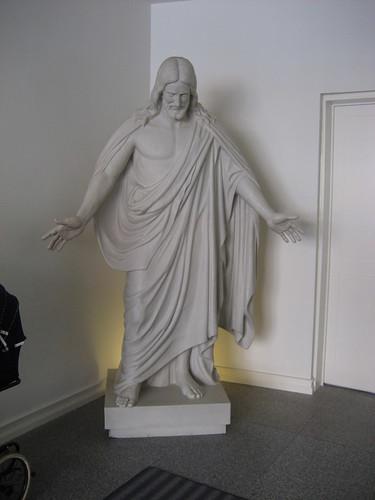 Christus statue in lobby