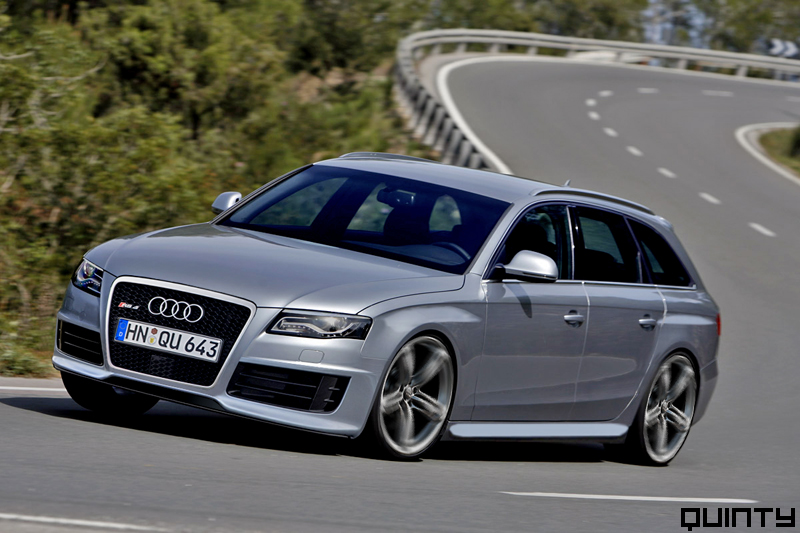 The first photoshop from the new Audi RS4 Avant. You can see it will be more