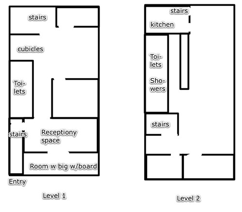 small office building floor plans. a floor plan of the office