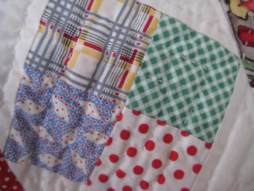 Lochie's quilt detail