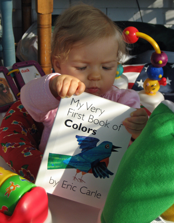 Read to Me, Dad: My Very First Book of Colors