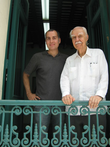 James Lynn y Don Ricardo Alegría