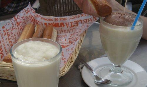 Horchata y Fartons