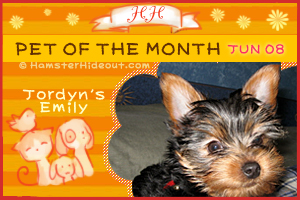 Pet of the Month - Jun 08