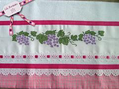 Uvas (Lila Bordados em Ponto Cruz) Tags: decoração cozinha bordado pontocruz panosdeprato