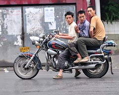 Baima bikers (D_C_D) Tags: china chinese mortorcycle baima