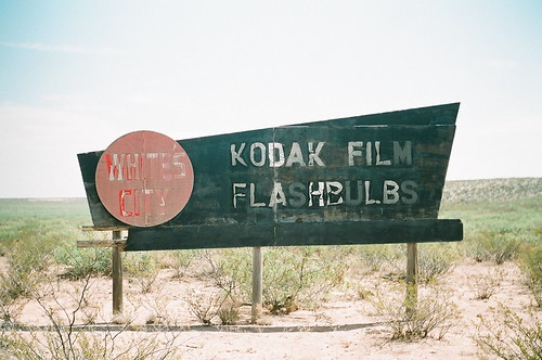 kodak film- flash bulbs