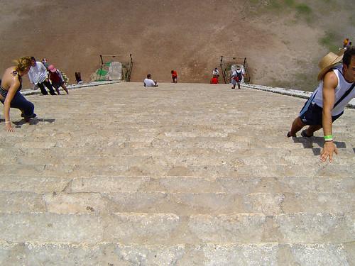Pyramid of Kukulcán, Chichén-Itzá, Yucatán, Mexico