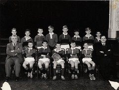 1ST YEAR FOOTBALL TEAM 1964 (billbeeby) Tags: