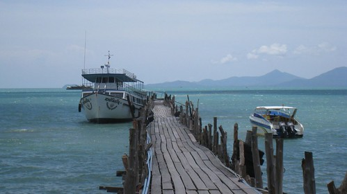 The ferry from Koh Samui to Koh Phangan