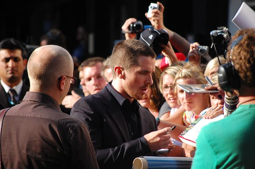 The Dark Knight European Premiere