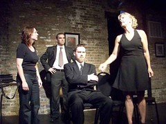 Rehearsal, July 2008: Checkmate (tearfulassassin) Tags: wickerpark chicago theater play theatre performance performingarts police kidnapping artists reality wanted premiere drama bucktown violent detectives windycity marymarshall matthewtucker vincenttruman gorillatango shelleynixon caitlinemmons