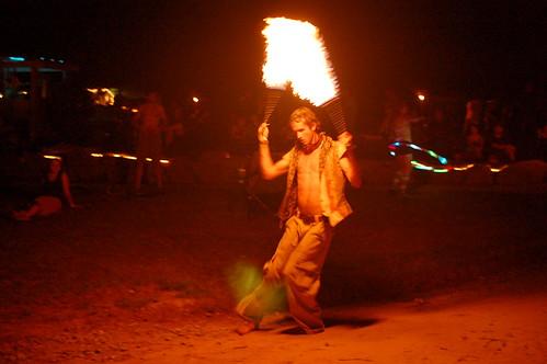 Zack Spinning Fire
