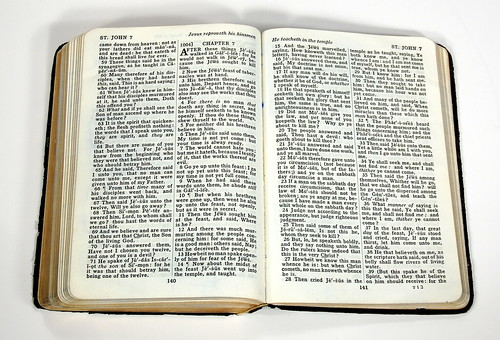 1930s Oxford Self-Pronouncing KJV - Spread