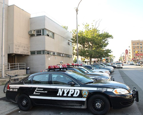 P090 NYPD Police Station Precinct 90, Williamsburg, Brooklyn, New York City