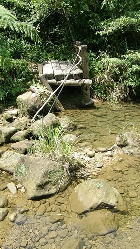 22.溪上的小斷橋