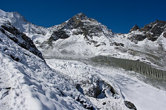 Pointe de Moiry and the Moiry Glacier (Le Vichiesso, Switzerland) Photo