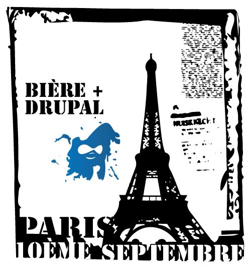 drupal and beer in paris