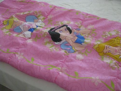Snow White Sleeping bag $3.50