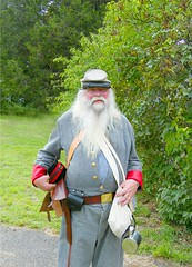 Old Civil War Soldier (Stanley Zimny (Thank You for 18 Million views)) Tags: old beard war south hats confederate civilwar soldiers uniforms reenactment