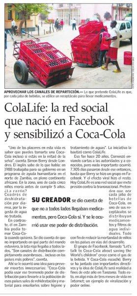 El Mercurio Article - Page Image