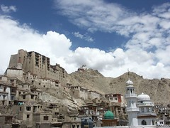 Leh - palast (hiddelbee) Tags: travel india public temple asia religion churches buddhism monastery monuments leh mosques ladakh