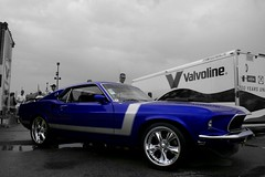 1969 Ford Boss Mustang (osubuckialum) Tags: boss columbus ford favorites views hotrod mustang custom myfavorites 1000 musclecar 302 bluecar stang goodguys bossmustang