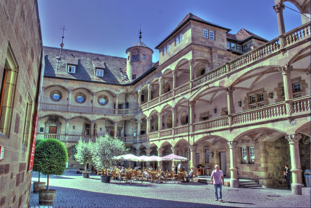 HDR of Old Castle in Stuttgart