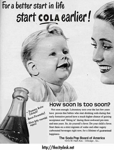 For a better start in life start COLA earlier! / Steve