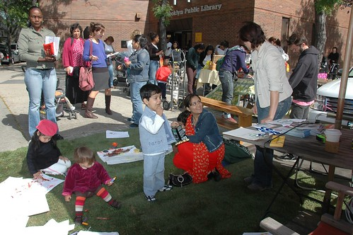 Cortelyou Road Park, Park(ing) Day NYC 2008