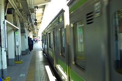 Harajuku Station (IMG_0779) (JeffInVan) Tags: japan tokyo harajuku yamanote canond30