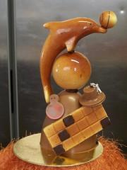 Pezzi commerciali in cioccolato. Nuova collezione Natale 2008