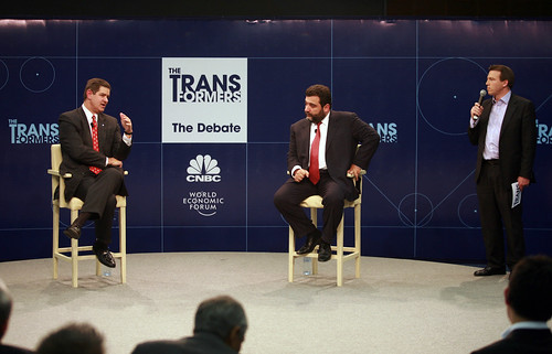 CNBC Debate - Annual Meeting of the New Champions Tianjin 2008