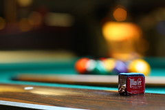 9 ball bokeh (DefJux921) Tags: pool canon explore billiards cueball ef50mmf18ii xsi poolhall northhollywood 9ball niftyfifty explored hbw 450d happybokehwednesday