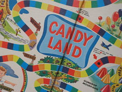 2644-W-Candyland Board (2) (bronc) Tags: dice game vintage antique bowling clue pickupsticks candyland gameboard