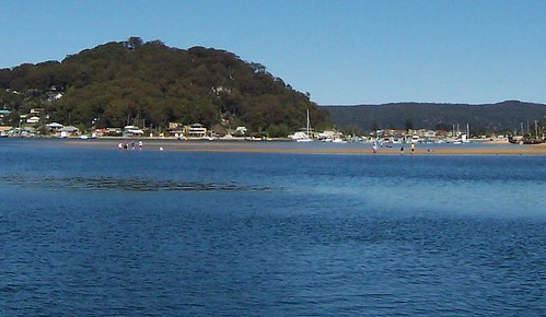 Sandbar on Brisbane Water