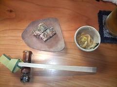 八戸 200812 イカの塩辛とスッポンの煮こごり