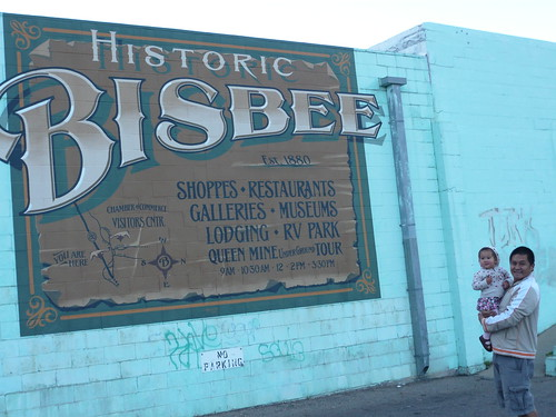 Historic Bisbee Sign