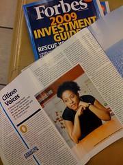 Ushahidi in Forbes Magazine