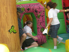Jumping castle fun