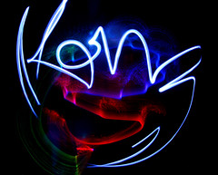 Kon'z light (Kon'z) Tags: light lightpainting painting darkness konz d40x