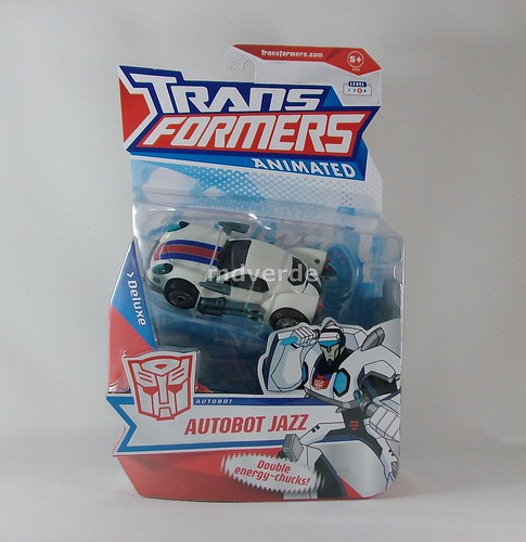 Transformers Jazz Animated Deluxe - caja (by mdverde)