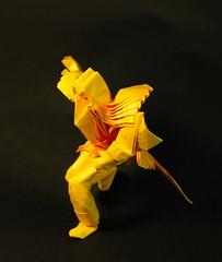 Swordsman (egg.origami) Tags: origami swordsman hoangtrungthanh hongtrungthnh licencetofold
