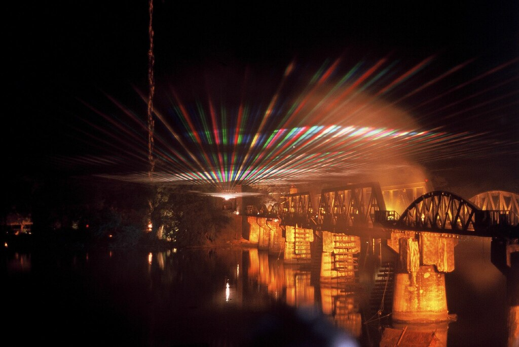 Sound and light show, Kanchanaburi