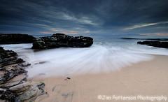 Mitchell's Cove - Santa Cruz, California (Jim Patterson Photography) Tags: ocean california longexposure sunset santacruz seascape clouds landscape coast monterey nikon waves