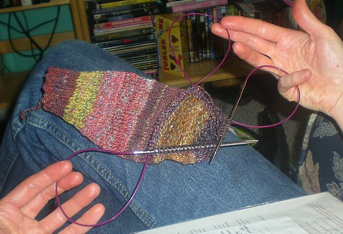 Triple-loop knitting